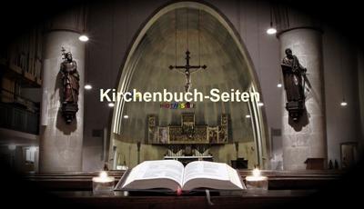 Kirchenbuch-Seiten Kreis Heiligenbeil